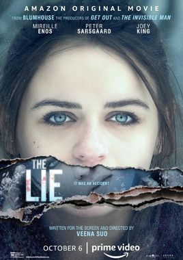Cartel oficial en español de: The Lie