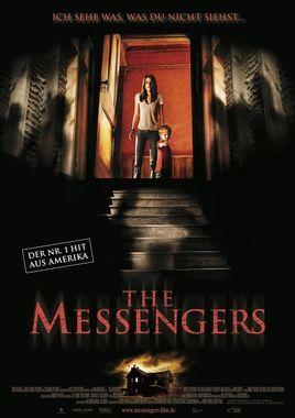 "Cartel ""The Messengers"" alemán"