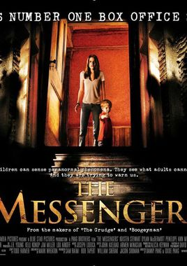 "Cartel ""The Messengers"" inglés"