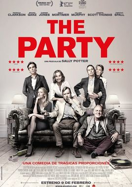 Cartel oficial en español de: The Party