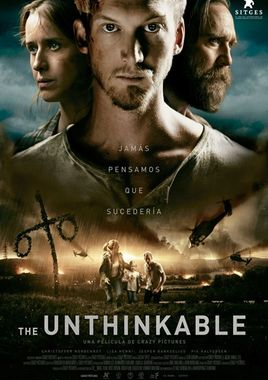 Cartel oficial en español de: The Unthinkable