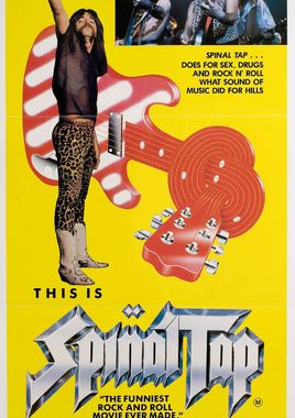 "Cartel ""This Is Spinal Tap"" australiano"