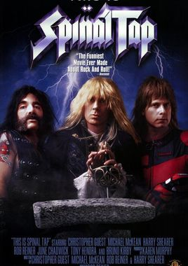 "Cartel ""This Is Spinal Tap"" norteamericano 2"
