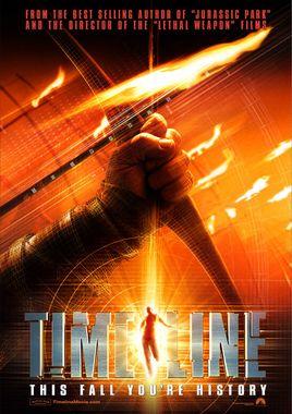 """Cartel teaser """"Timeline"""" norteamericano"""