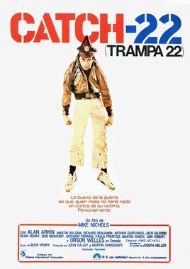 Cartel oficial en español de: Trampa 22