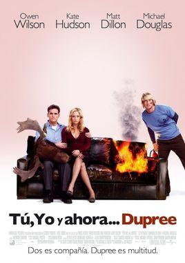 Cartel oficial en español de: Tú, yo y ahora... Dupree