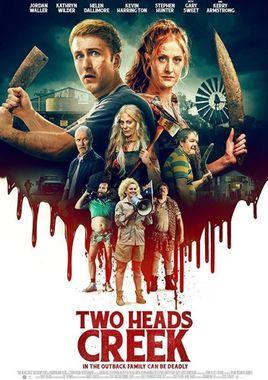 Cartel oficial en español de: Two Heads Creek