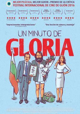 Cartel oficial en español de: Un minuto de gloria