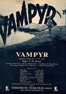 Cartel oficial en español de: Vampyr, la bruja vampiro