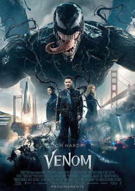 Cartel oficial en español de: Venom