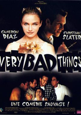 "Cartel de ""Very Bad Things"" francés"
