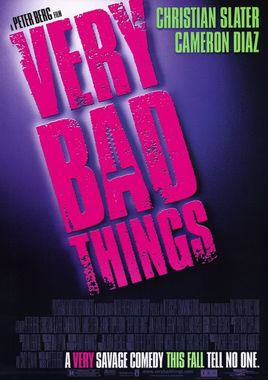 "Cartel de ""Very Bad Things"" norteamericano"