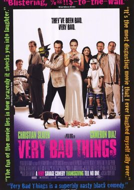 "Cartel de ""Very Bad Things"" norteamericano 2"