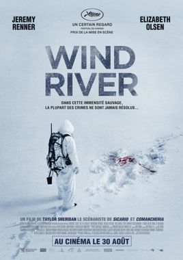 "Cartel de ""Wind River"" Francés"