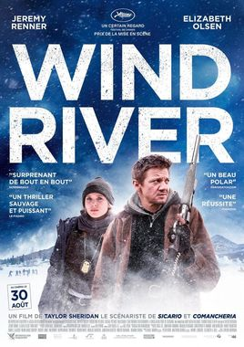 "Cartel de ""Wind River"" Francés 2"