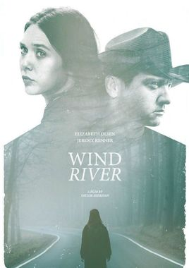 "Cartel de ""Wind River"" norteamericano 2"