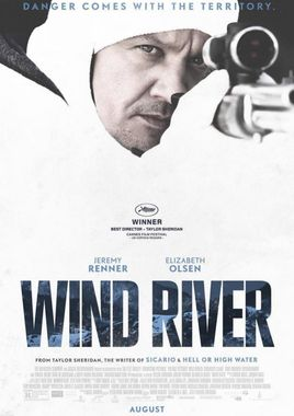 "Cartel de ""Wind River"" norteamericano 3"