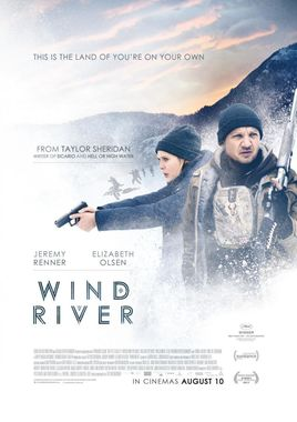 "Cartel de ""Wind River"" norteamericano 4"