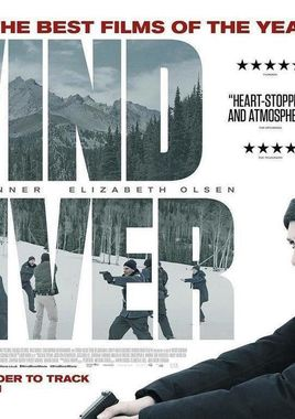 "Cartel de ""Wind River"" Reino Unido"