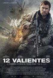 Cartel oficial en español de: 12 valientes