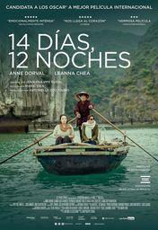 Cartel oficial en español de: 14 días, 12 noches