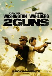 Cartel oficial en español de: 2 Guns