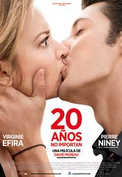 Cartel oficial en español de: 20 años no importan