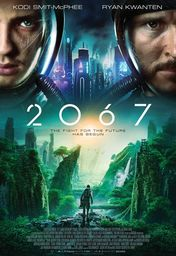 Cartel oficial en español de: 2067