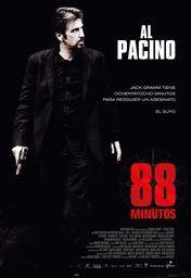 Cartel oficial en español de: 88 minutos