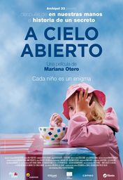 Cartel oficial en español de: A cielo abierto