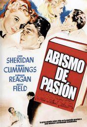 Cartel oficial en español de: Abismo de pasión