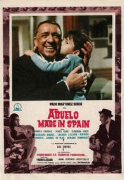 Cartel oficial en español de: Abuelo made in Spain