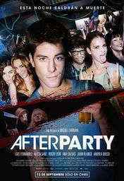 Cartel oficial en español de: Afterparty