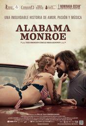 Cartel oficial en español de: Alabama Monroe
