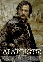 Cartel oficial en español de: Alatriste