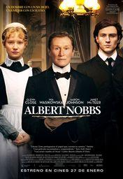 Cartel oficial en español de: Albert Nobbs