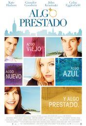 Cartel oficial en español de: Algo prestado