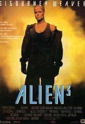 Cartel oficial en español de: Alien 3