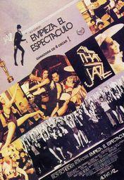Cartel oficial en español de: All That Jazz (Empieza el espectáculo)