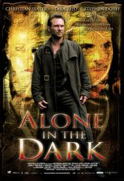 Cartel oficial en español de: Alone in the Dark