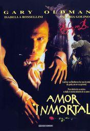 Cartel oficial en español de: Amor inmortal