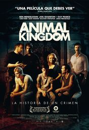 Cartel oficial en español de: Animal Kingdom