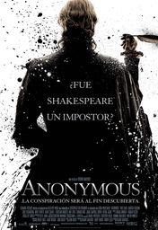 Cartel oficial en español de: Anonymous
