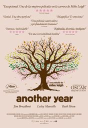 Cartel oficial en español de: Another year
