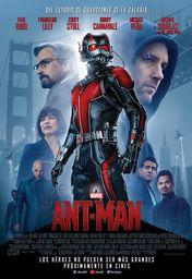 Cartel oficial en español de: Ant-Man