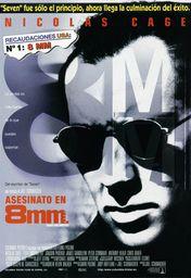 Cartel oficial en español de: Asesinato en 8mm.
