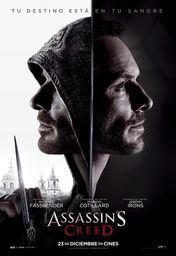 Cartel oficial en español de: Assassin's Creed