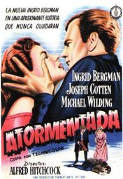 Cartel oficial en español de: Atormentada (1949)