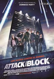 Cartel oficial en español de: Attack The Block