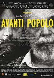 Cartel oficial en español de: Avanti popolo